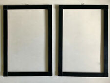 2 von 5  Biedermeier Rahmen Holz schwarz 51,7 x 35,6 cm um 1920