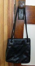 Nine West Black Medium Shopper Shoulder Tote Purse Bag Handbag Magnetic Snap