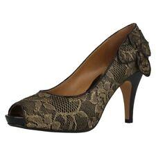 Clarks Stiletto Party Peep Toe Heels for Women