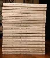 THE AMERICAN HISTORICAL REVIEW -- Lot of 17 Issues --1978-1981