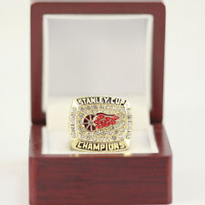 1998 DETROIT RED WINGS STANLEY CUP CHAMPIONSHIP RING  W/DISPLAY CASE SIZE 11