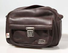 VINTAGE MARSAND BROWN CAMERA BAG (10 X 3.5 X 7)
