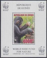 Guinea Mi.Nr. Block 926A Naturschutz, Schimpanse, postfrisch