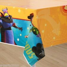 TOY STORY GAME TIME PLASTIC TABLECOVER ~ Birthday Party Supplies Room Decoration