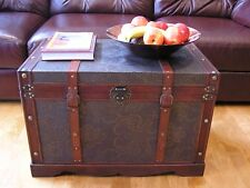 New Orleans Large Wood Storage Trunk Wooden Hope Chest - Sold Out