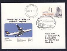 17971) LH/SAA FF Frankfurt-Kapstadt 16.10.2004 So-Kte