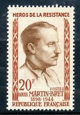 STAMP / TIMBRE FRANCE NEUF N° 1201 ** LOUIS MARTIN BRET