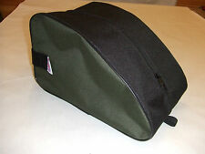 HEAVY DUTY OLIVE BIVVY SLIPPERS /SHOES  STORAGE BAG Made in UK
