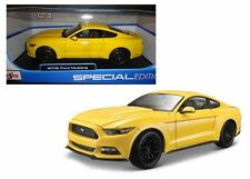 MAISTO 1:18 SPECIAL EDITION - 2015 FORD MUSTANG GT Diecast Car Model Yellow
