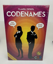 Codenames Strategy Spy Game Team Play Czech Games Edition #1 Party Game SEALED!