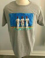 St. Louis Cardinals Bob Tewksbury Gant Lankford Jordan Men's T-Shirt Size XL SGA