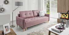 Sofa NORDI mit Schlaffunktion Polstersofa Couch Schlaffcouch Skandinavisch 11