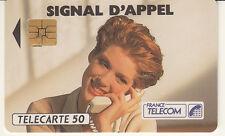France télécarte 50  Signal d'appel
