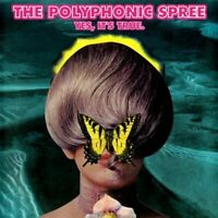 THE POLYPHONIC SPREE yes, it's true (sealed CD, album, digipak) psych, indie,