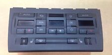 AUDI RS4 B7 2005 - 2008 HEATER CONTROLS HEATED SEATS AIRCON SWITCHES 8E0820043B