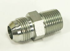 "5/8"" JIC (7/8""-14 THREAD) x 1/2"" MALE NPTF HYDRAULIC FITTING ADAPTER FORKLIFT"
