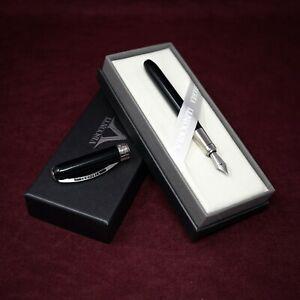 Visconti Fountain Pen Black Fine Nib