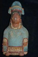"Sale! Pre Columbian Mayan Jaina Figure, 6"" Prov"