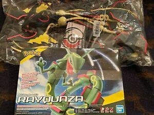 "Pokemon Center Shining Rayquaza Plush ""45 + Rayquaza Bandai Model Bundle"