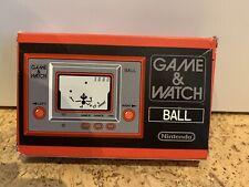 GAME AND WATCH BALL OVP Club Nintendo Prämie