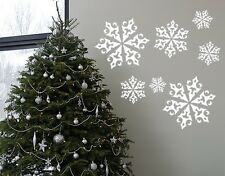 Snowflakes - Highest Quality Wall Decal Sticker