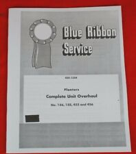 BRSM GSS-1354 IH Planters Complete Overhaul Service Manual Farmall 186 456 188