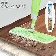 Microfiber Spray Mop Cleaner Kit Home Floor Dust Mop Kitchen Bathroom Sweeper