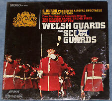 S Hurok Welsh Guards and Scots Guards London LP Bands Drums Bag Pipes Dancers