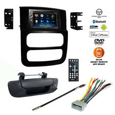 Double DIN Bluetooth USB Car Stereo+Backup Camera+02-05 Dodge Ram Radio Dash Kit