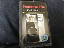 Apple iPod nano first generation 2x protective film covers brand new sealed