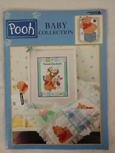 Disney - Winnie the Pooh Baby Collection - Cross Stitch Book - Leisure Arts 3125