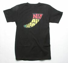Nixon NX Fin Hawaii Short Sleeve Tee T-Shirt (M) Black S1623000-03