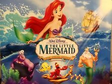 Disney Store Exclusive The Little Mermaid Lithographs 4-11x17 Prints with Folder