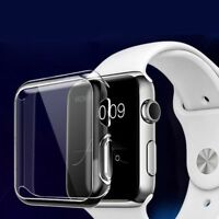 Apple iWatch Series 3 TPU Clear Screen Protector Case 38mm