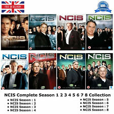 NCIS - Series 1 - 8 Naval Criminal Investigative Service 1 2 3 4 5 6 7 8 NEW DVD