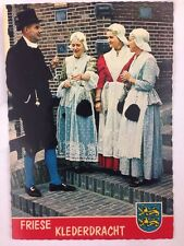 Postcard Friese Klederdracht Period Costume Meulencolor