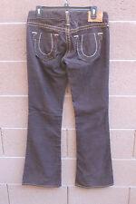 TRUE RELIGION JEANS Brown  Corduroy Flare Pants - Size 29