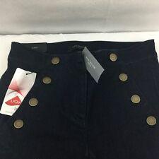 Ann Taylor Petite Sailor All Day Jeans Skinny Modern Fit Sz 00P Dark Wash NEW