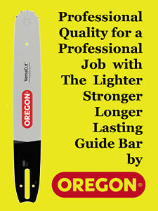 """Oregon 15"""" VersaCut Guide Bar for Dolmar PS-460 PS-510 PS-5100 PS-6100 Chainsaws"""