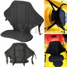 Kayak Canoe Seat Rest Full Backrest Fishing Cushion w/ Detachable Back Pack Bag