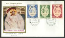 Vatican City Sc# 467-9: Easter 1969 on FDC