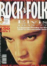 Rock & Folk #301 -Elvis PRESLEY- House Of Love, Megadeth, Elvira, Deee-Lite,...