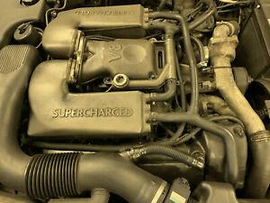 JAGUAR XJR XKR 4.0 SUPERCHARGED  ENGINE  1996 -1998 MODELS