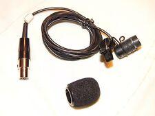 Shure WL185 Lavalier Condenser Microphone Excellent condition , CLEAN .