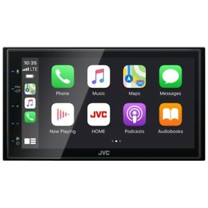 "JVC KW-M560BT Digital Media Receiver featuring 6.8"" Touch Monitor Car BRAND NEW"