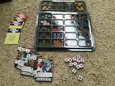 Wizkids! Dice Masters Complete Justice League Set All Rare Super Rare + dice