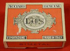 (PRL) LUS ACCIAIO BIMETAL PENNINO PENNINI boîte PLUMES ENCRE INK VINTAGE COLLEZ.