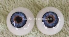 Reborn Baby Round Acrylic Eyes 20mm Sea Blue Doll Making Supplies