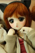 BJD 1/6 DOLL Chibi Moe FREE FACE MAKE UP+FREE EYES Cute Girl