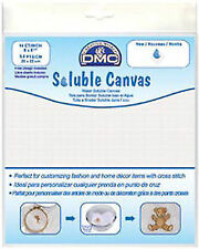 Soluble Canvas 14 Count 20cm X 8 1.3cm 1/pkg White